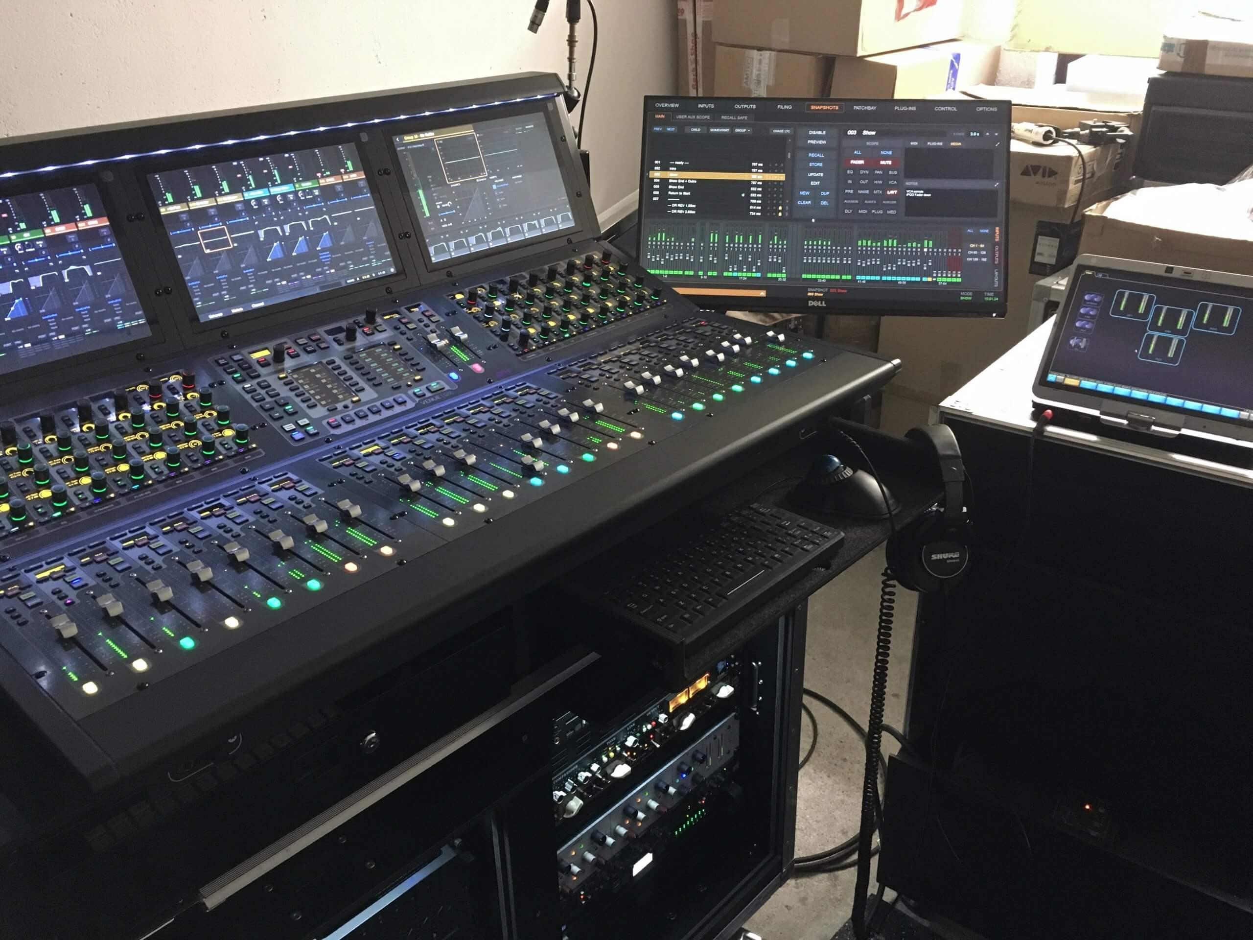 Avid Venue S6L-24D + Peripherals